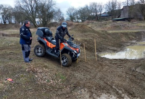 Neu: Trial Wettkämpfe für Quads