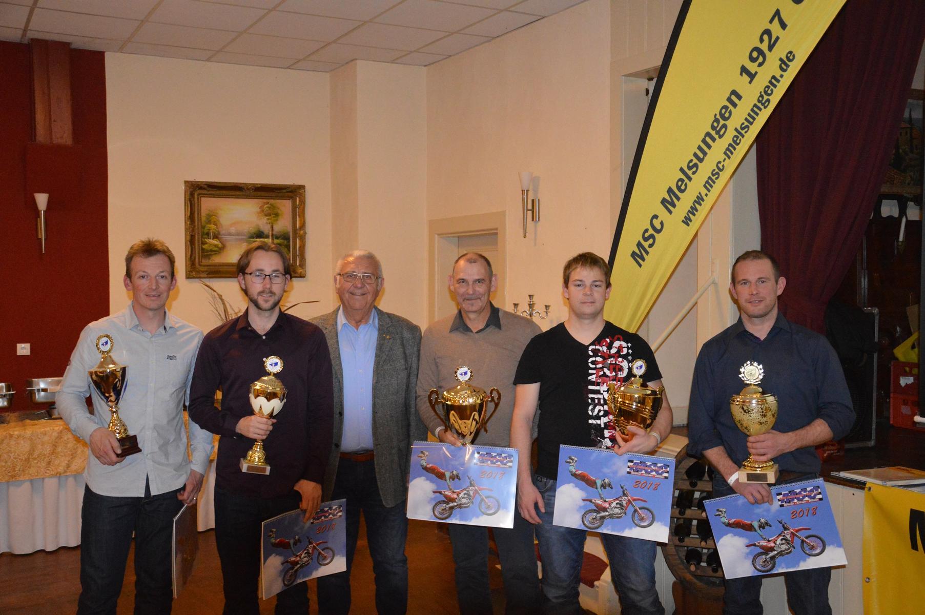Sportlerehrung MSC Melsungen 2017